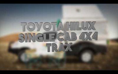 Britz Rentals – 4WD TX Toyota Single Cab Trax 2 Bett